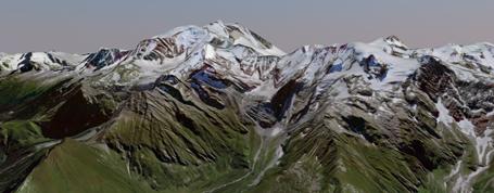 Naviguez facilement en 3D et explorez le territoire en relief