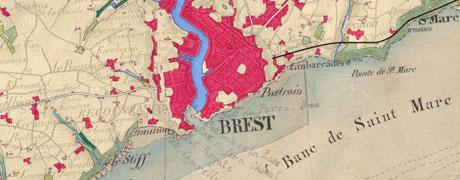 Des cartes d'état-major à l'occupation du sol historique
