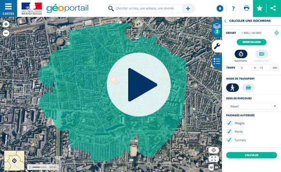 geoportail 3d gratuit en francais