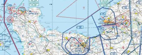 Carte aéronautique OACI 2016