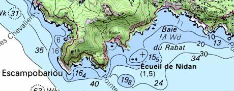 Données Mer et Littoral sur le Géoportail