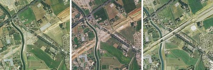 Déplacement de l'autoroute A9 autour de Montpellier (2014-2015-2016)