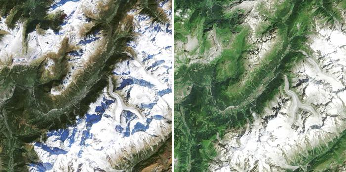 Le massif du Mont-Blanc (2015-2016)