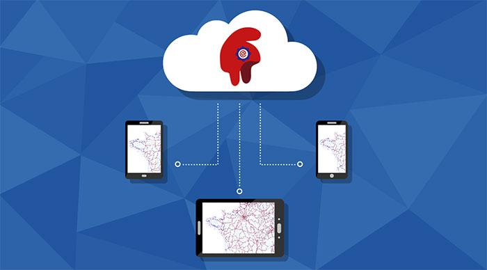 Le Géoportail, une plateforme de diffusion pour les données de référence