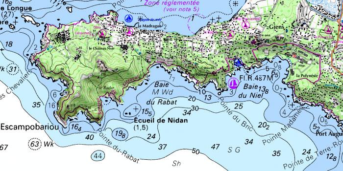Carte littorale (SHOM / IGN)