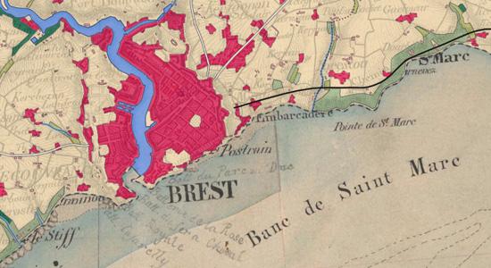 Nouvelle donnée Occupation du sol historique sur le Géoportail