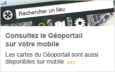 Le Géoportail sur votre mobile
